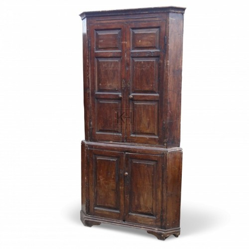 Tall Cupboard with Panelled Doors