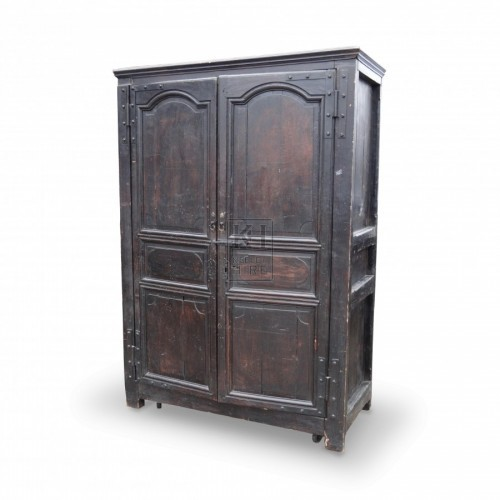 Dark Wooden Wardrobe