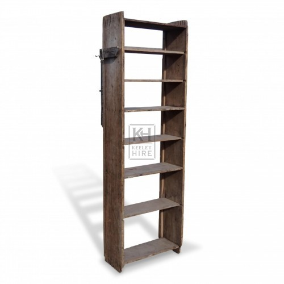 Freestanding Wooden Shelf Unit