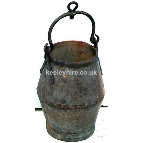 Galvanised Well Bucket