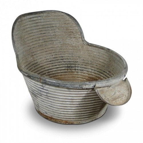 Galvanised Tub #1