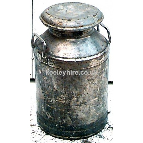 Galvanised Milk Churn #3