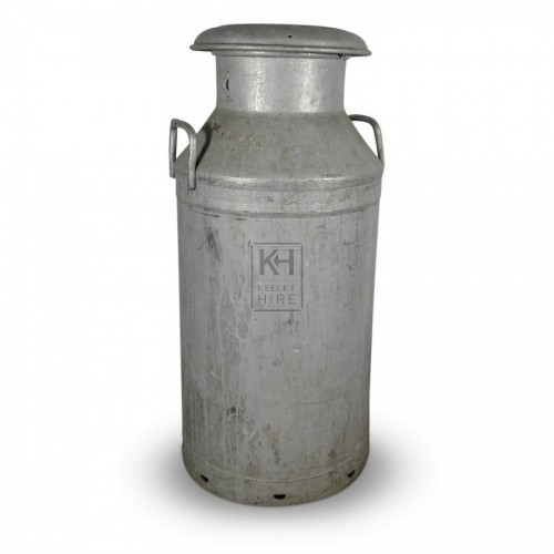 Galvanised Milk Churn #4