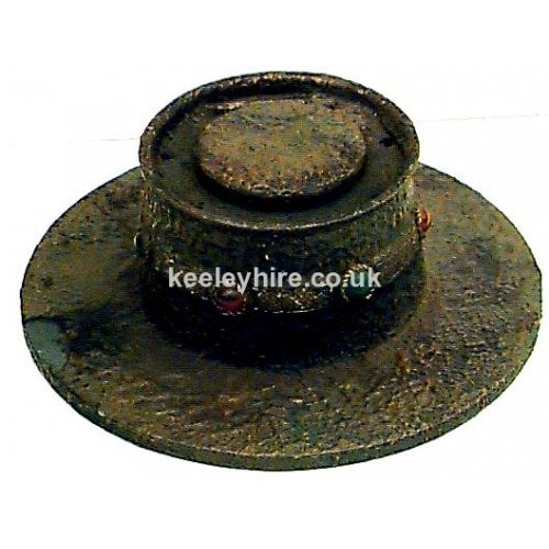 Large Bronze Inkwell