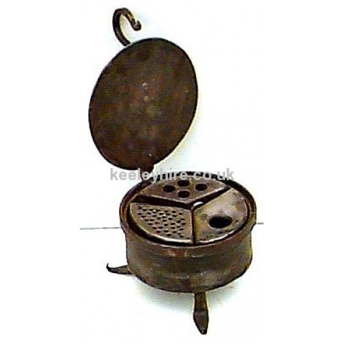 Round Iron Writing Set