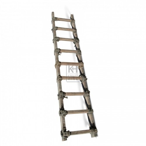 Wood and Rope Ladder