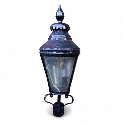 Large Round Pall Mall Street Lamp Top