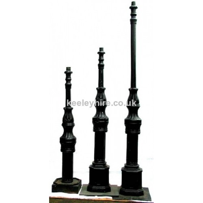 Ornate lampposts