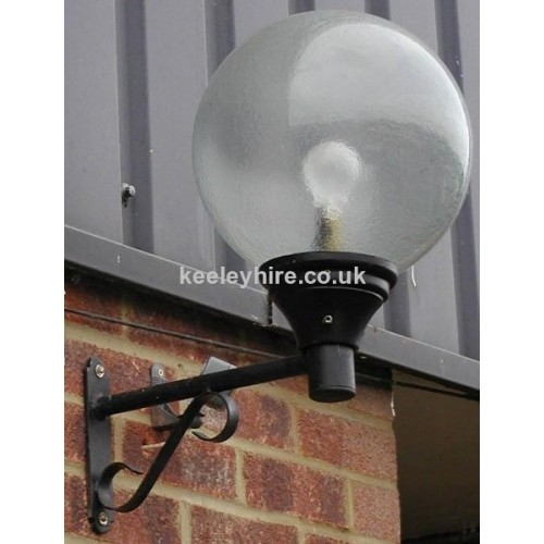 Prop Hire Lamp-posts & Street Lighting Wall Mounted Street Light #6 - Keeley Hire