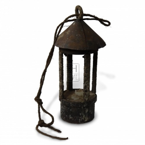 Open Lantern with Top