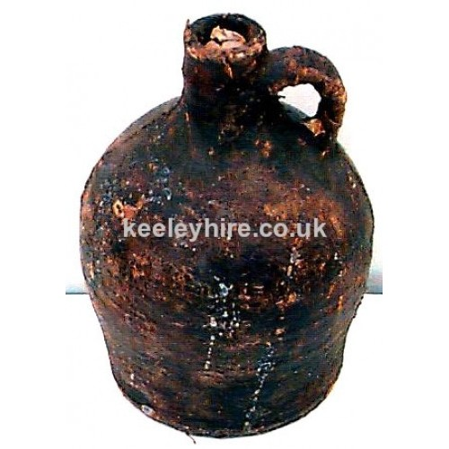 Small Leather Flagon