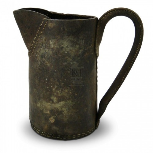 Straight Leather Jug