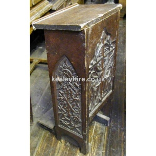 Carved Lectern