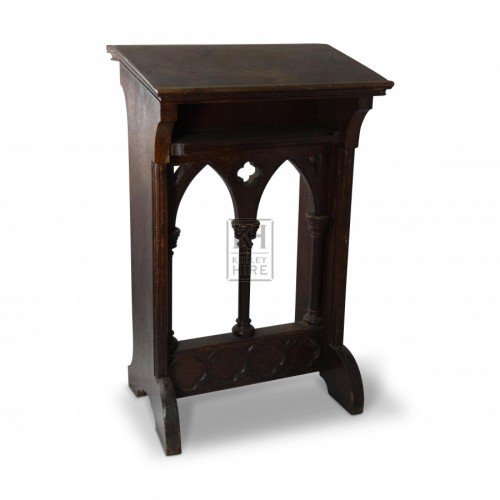 Gothic Carved Lectern