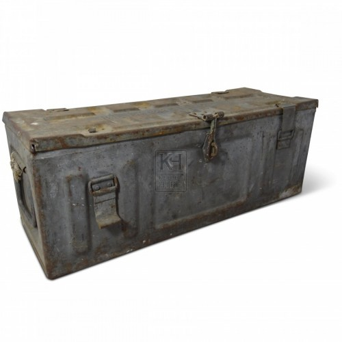 Rectangle Metal Ammunition Box