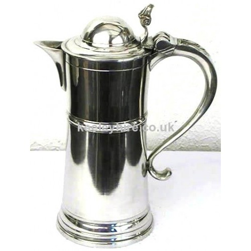 3 Pint Beefeater Pewter Flagon