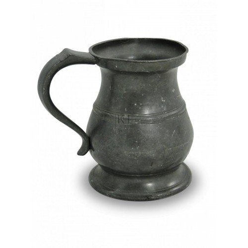 Pewter Tankard no1