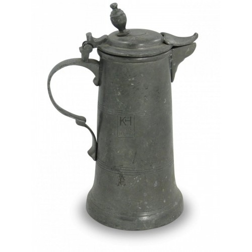Pewter Flagon #5