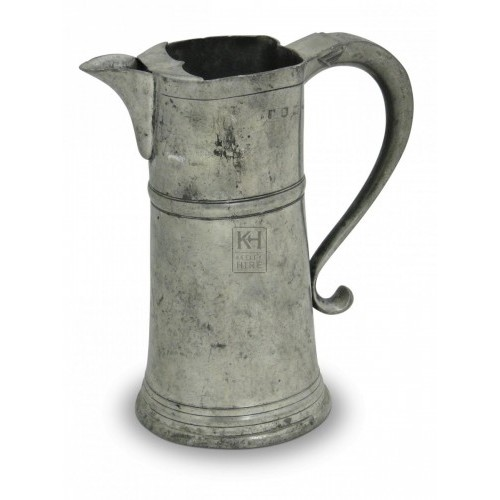 Pewter Flagon #6