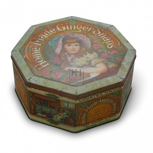 Ginger Snaps Tin