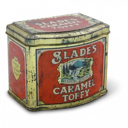 Slades Caramel Toffy Tin