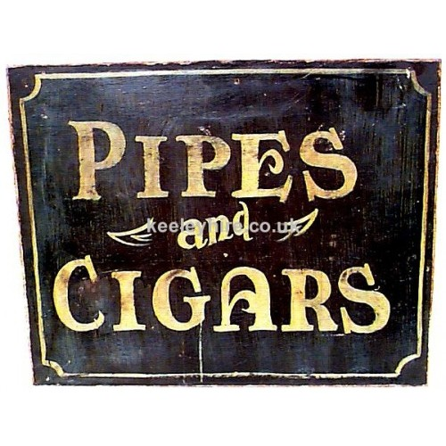 Pipes & Cigars Sign