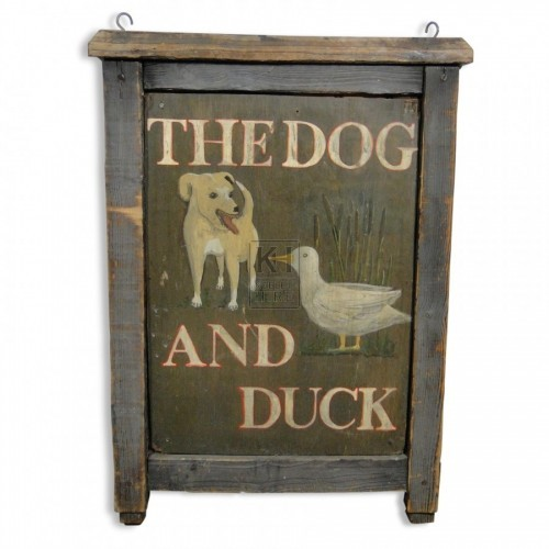 The Dog & Duck Sign