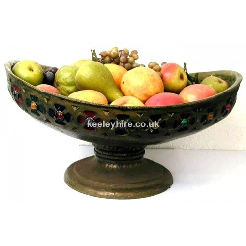 Large Bronze Fibreglass Bowl