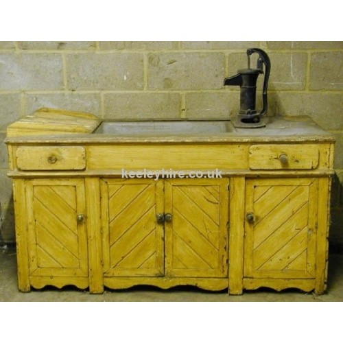 Sink unit with cupboards