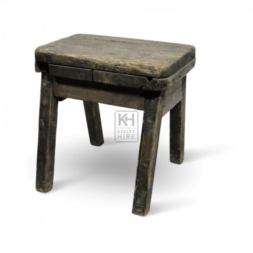 Thick Top Stool