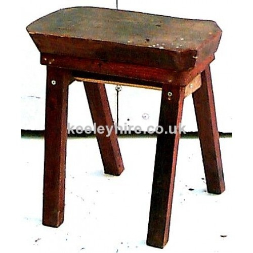 4 legged Wood stool