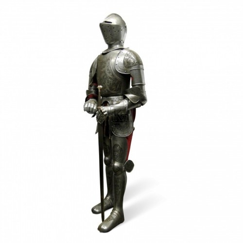 Suit Of Armour with Etched Detail