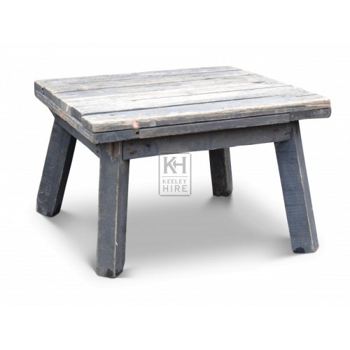 Small Low Wooden Table