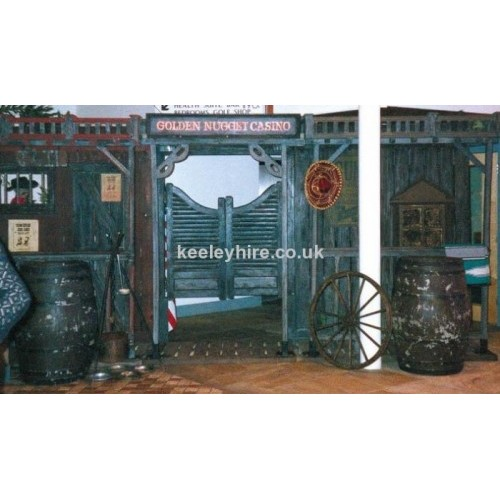Saloon Doors with Iron bases