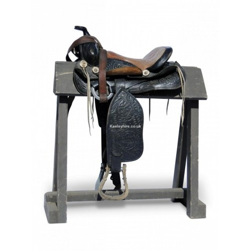 Wood Saddle Stand