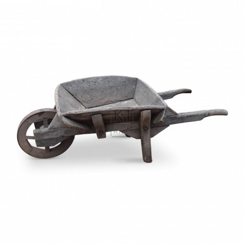 Wood Wheel Barrow