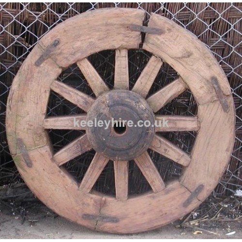 Thick Rimmed Cart Wheel