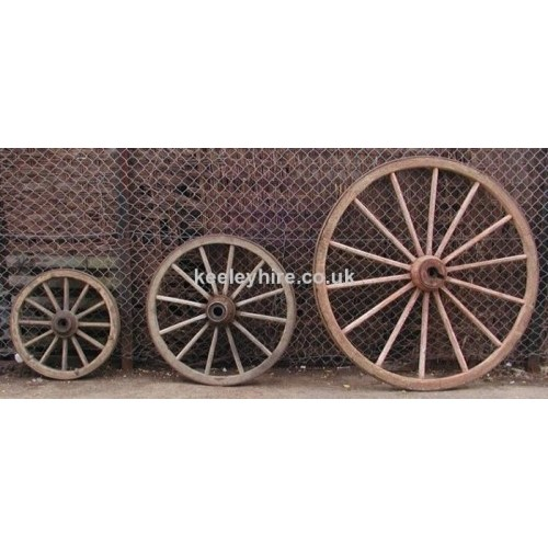 Small / Medium / Large Cart Wheels