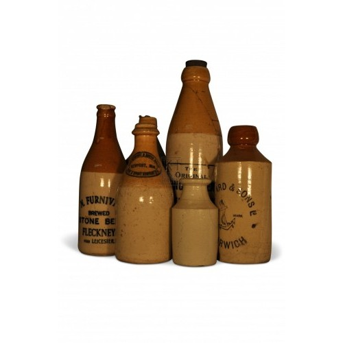 Earthenware bottles