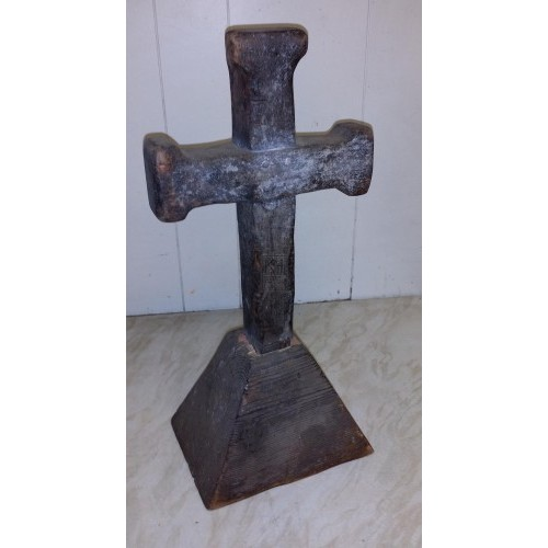 Small wood crucifix