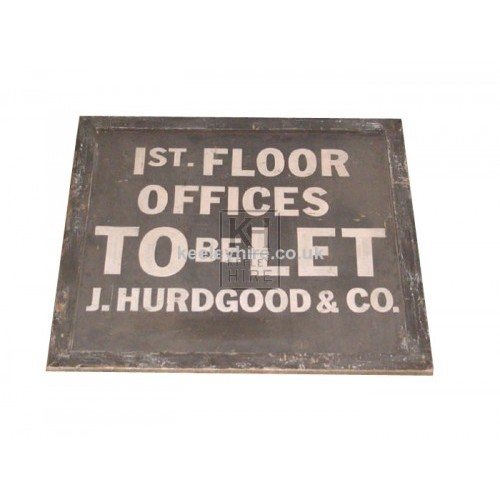 Offices To Let sign