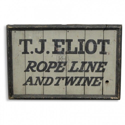 Rope Shop Sign