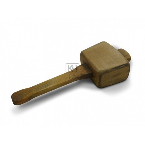 Square Headed Wooden Mallet