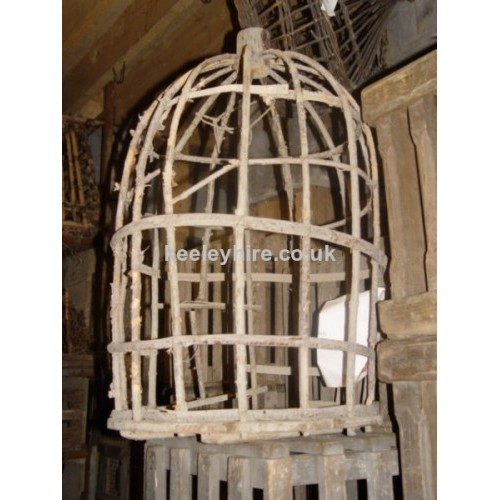 Dome wood cage