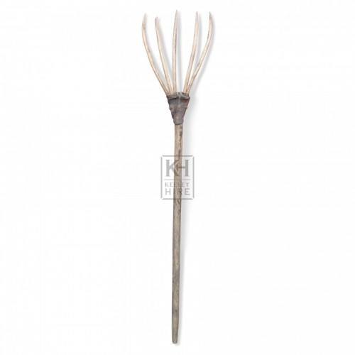 Period Wooden Fork