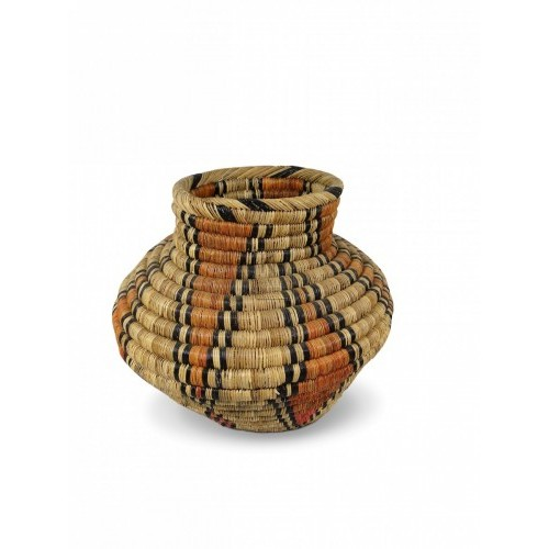Shaped Straw Basket