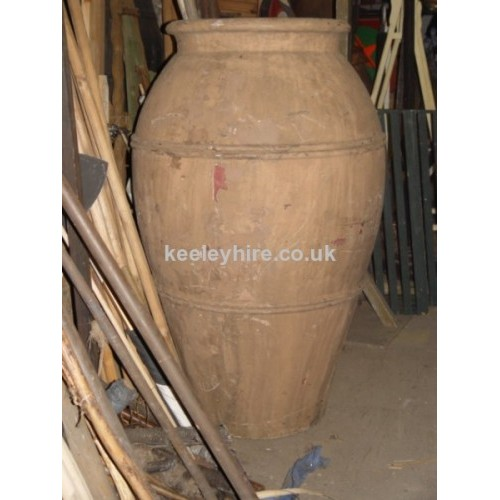 Very large fibreglass urn
