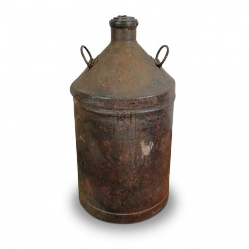 Galvanised Bottle Urn