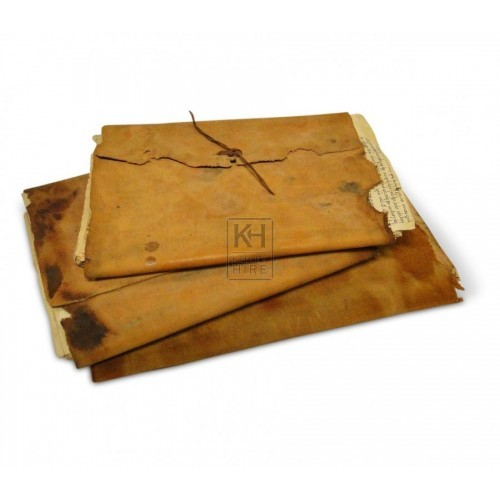 Leather Document Folders