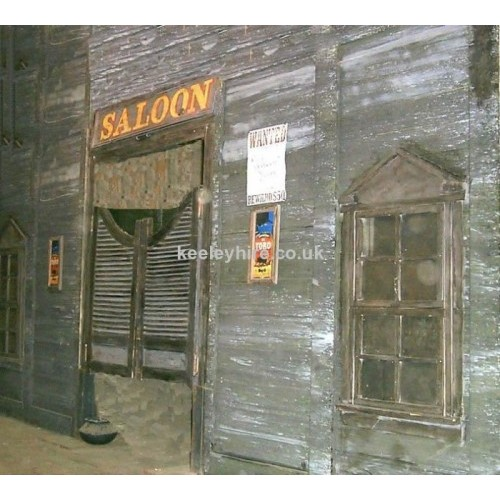 Western Saloon frontage
